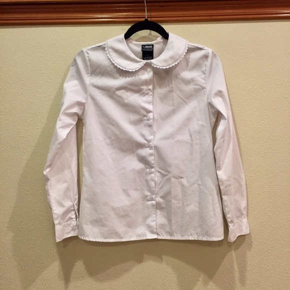 French Toast Other - White Button Down Shirt